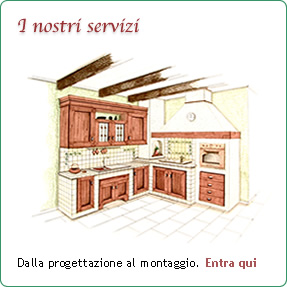 Cucine in muratura - Il segno di uno stile unico