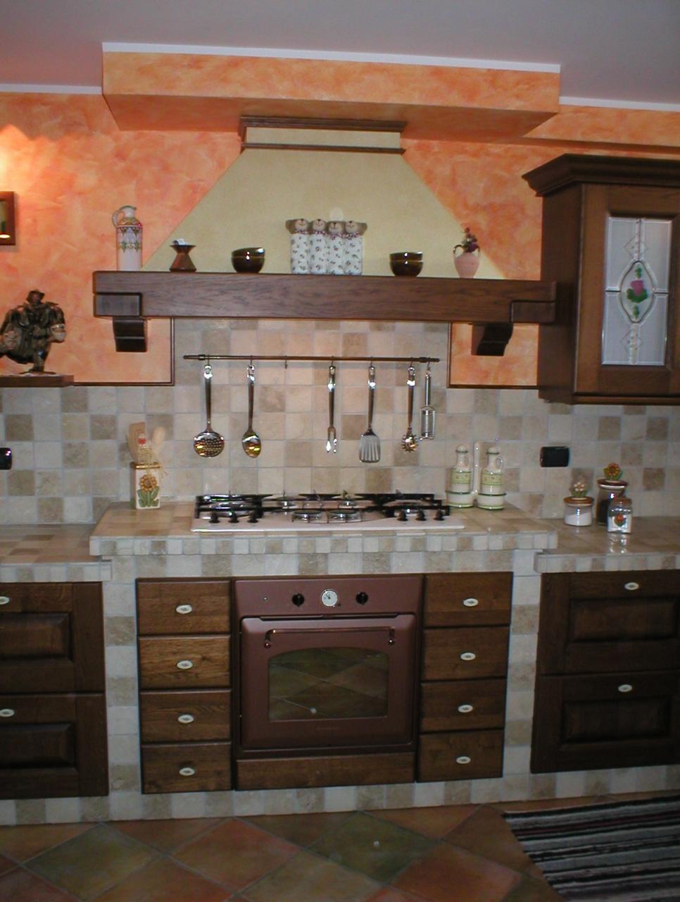 Disegni cucine in muratura cucine moderne con isola - Cucine in muratura rustica ...