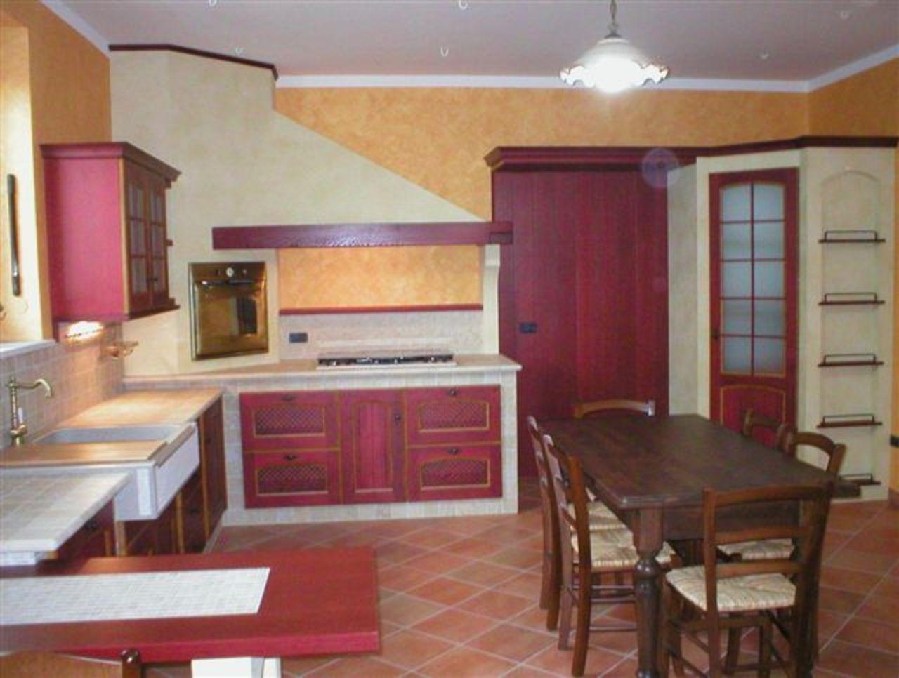 Muretto per separare il soggiorno dalla cucina - Cucine stile francese ...