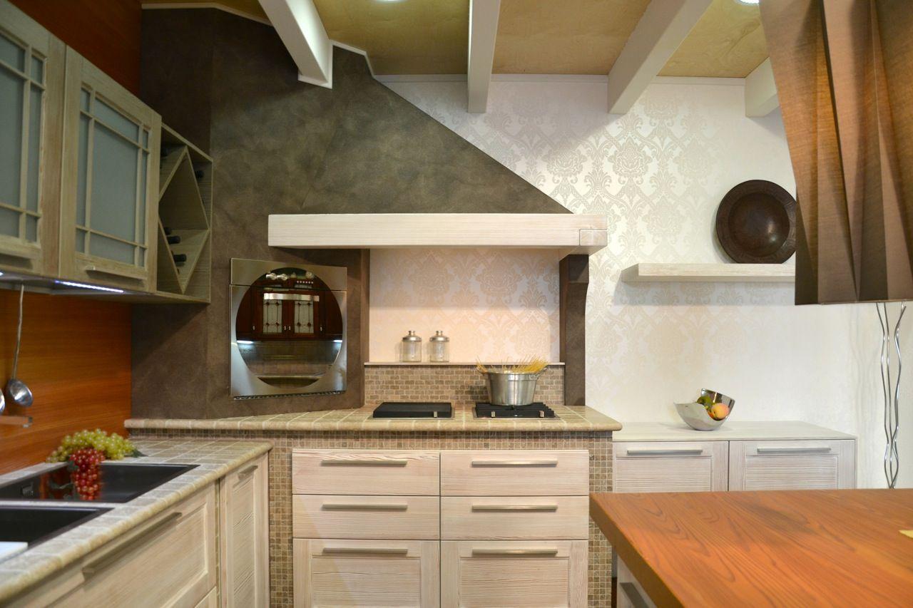 cucine in muratura - bianca